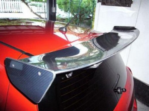 Gt Carbon Fiber Rear Window Roof Spoiler Wing For 2006