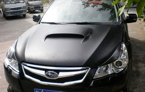 Carbon Fiber Hood Bonnet For 2009 2012 Subaru Forester Xt