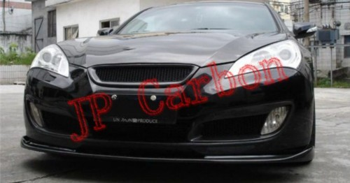 Carbon Fiber Front Lip Spoiler Splitter For 2009 2011