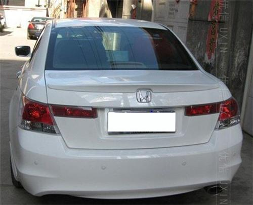 Rear Trunk Deck Spoiler For 2008 2012 Honda Accord Jdm
