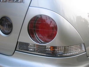 Tail Rear Light Covers Eyebrows Eyelids For 98 05 Lexus