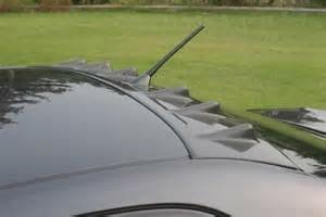 Roof Fin Spoiler Vortex Generator For 1998 2005 Lexus Is200 Is300 Is250 Toyota Altezza Jp Carbon