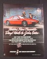 Magazine Ad for Pontiac Fiero Hall & Oates Concert Tour, 1984