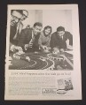 Magazine Ad for Aurora Model Motoring, 1962, Slot Car Classic 4-Lane Racing