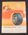 Magazine Ad for Mohawk Strato Chief Tire,