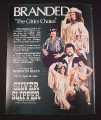 Magazine Ad for Silver Slipper Gambling Hall & Saloon Las Vegas, 1981