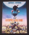 Magazine Ad for Despicable Me Movie, 2010, Steve Carell, Animated