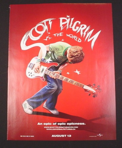 Magazine Ad for Scott Pilgrim vs. The World Movie, 2010