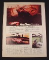 Magazine Ad for Hot Wheels Gran Toros Porsche, 1970, 1:43 Scale Daytona