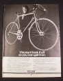 Magazine Ad for Viscount Aerospace Pro 10 Speed Bicycle, 1976