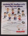 "Magazine Ad for Headliners NHL Figures, 1998, 7 7/8 "" by 10 1/2"""