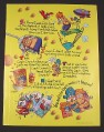 Magazine Ad for Cap'N Crunch Peanut Butter Crunch Cereal, 1995