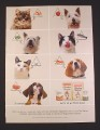 Magazine Ad for Goodlife Pet Food, 2005, 7 Different Cats & Dogs