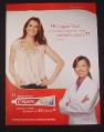 Magazine Ad for Colgate Total Toothpaste, 2009, Brooke Shields Celebrity