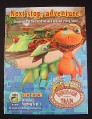 Magazine Ad for Dinosaur Train PBS TV Show, 2009, Jim Henson
