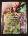 Magazine Ad for Welch's Grape Juice, 2010, Alton Brown, Celebrity