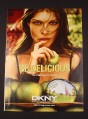 Magazine Ad for DKNY Perfume, 2007, Be Delicious, 8