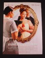 Magazine Ad for Maid In Manhattan Movie, 2002, Jennifer Lopes