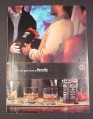 Magazine Ad for Jack Daniels Whiskey, 2002, Arrive as a Guest