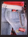 Magazine Ad for Big Red Gum, 2005, Jeans Back Pocket, 8