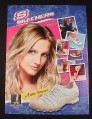 Magazine Ad for Skechers Shoes, 2007, Ashlee Simpson Celebrity