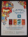 Magazine Ad for Camel Signature Blends Cigarettes, 2007, Robust Mellow