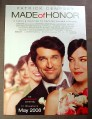 Magazine Ad for Made Of Honor Movie, 2008, Patrick Dempsey