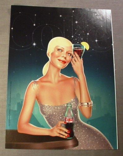 "Magazine Ad for Diet Coke, 2008, Coke Star Constellation, 8"" by 10 3/4"""