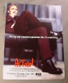 "Magazine Ad for Action TV Show, 1999, Fox, 8 1/4"" by 10 3/4"""