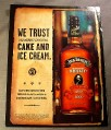 Magazine Ad for Jack Daniel's Whiskey, 1999, 150TH Birthday Bottle