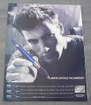 Magazine Ad for Cross Pen, 2000, Write Outside The Margins