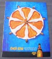 Magazine Ad for Kahlua Skrew, 2000, Synchronized Swimmers