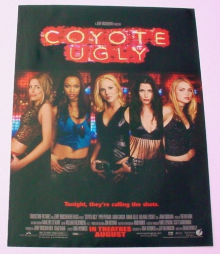 Magazine Ad for Coyote Ugly Movie, 2000, Tonight They're Calling the shots