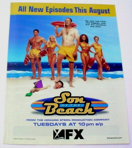 Magazine Ad for Son Of The Beach TV Show, 2000, FX
