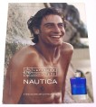 Magazine Ad for Nautica Fragrance for Men,2001,Manby Shore