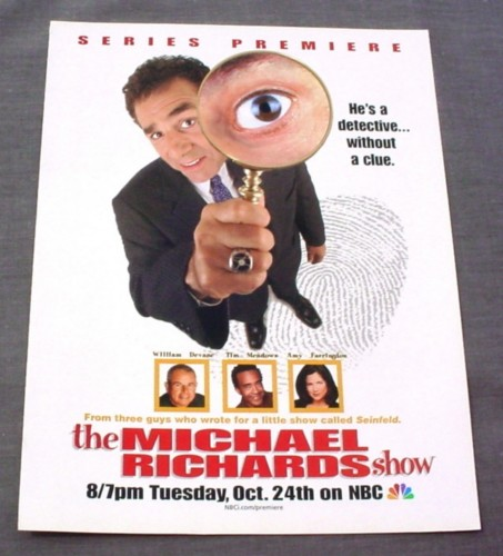 Magazine Ad for The Michael Richards TV Show, NBC 2000