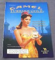 Magazine Ad for Camel Turkish Gold Cigarettes, 2001, Woman With Fez