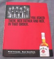 Magazine Ad for Jim Beam Whiskey, 2001, You Asked Them, Her Father