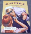 Magazine Ad for Camel Cigarettes, 2000, Girl Lighting Sailor's Cigarette