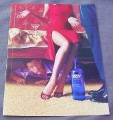 Magazine Ad for Skyy Vodka #39 Hidden Agenda 2000 Man Hiding Under Bed