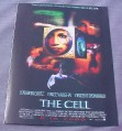 Magazine Ad for The Cell Movie, 2000, Jennifer Lopez, Vince Vaughn