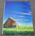 Magazine Ad for Crown Royal, 2000, Box Trap with Crown Royal Bait