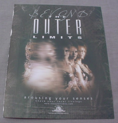 Magazine Ad for Beyond The Outer Limits TV Show, 2001, Sci-Fi