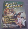 Magazine Ad for Lucky You Fragrances, 2002, Old Time Western Poster