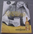 Magazine Ad for Jose Cuervo Tequila, 2001, Woman, If I'm Served