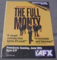Magazine Ad for The Full Monty TV Show, 2000, FX Network