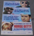 Magazine Ad for Nurse Betty Movie, 2000
