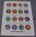Magazine Ad for 16 Boy Scouts of America Embroidered Patches, Philips Petroleum
