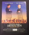 Magazine Ad for Weapons of Mass Distraction, HBO TV Movie, Ben Kingsley