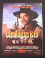 Magazine Ad for The Cherokee Kid, Movie, Sinbad, HBO Movie, 1997